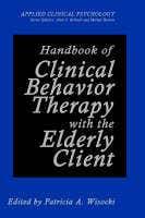 Handbook of Clinical Behavior Therapy with the Elderly Client