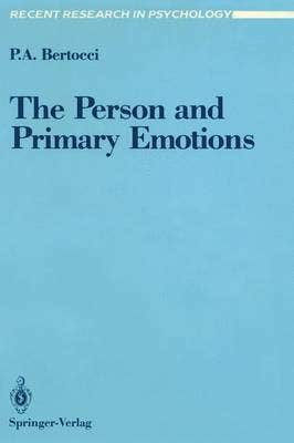 Person and Primary Emotions