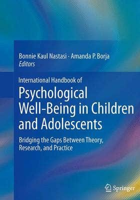 International Handbook of Psychological Well-Being in Children and Adolescents