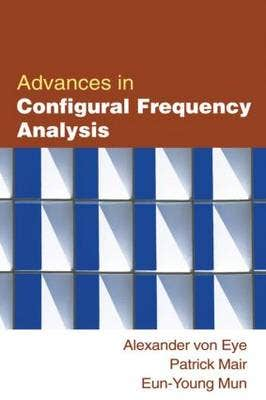 Advances in Configural Frequency Analysi
