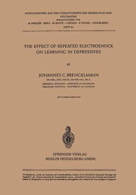 Effect of Repeated Electroshock on Learning in Depressives